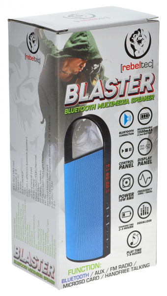 Głośnik bluetooth BLASTER BLUE