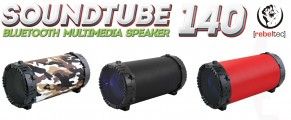 Głośnik bluetooth SoundTUBE 140 RED